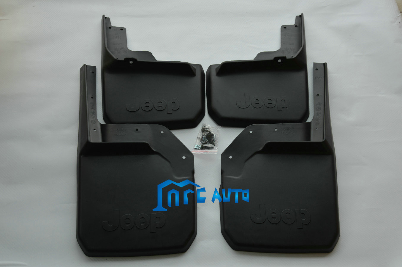 mud flaps splash guards front rear mudguards for jeep. Black Bedroom Furniture Sets. Home Design Ideas